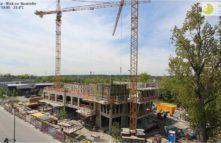 Baustellenfoto SHERIDAN TOWER AUGSBURG 11052017